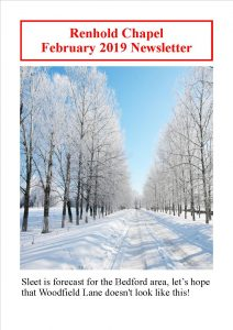 Renhold Chapel Newsletter February 2019